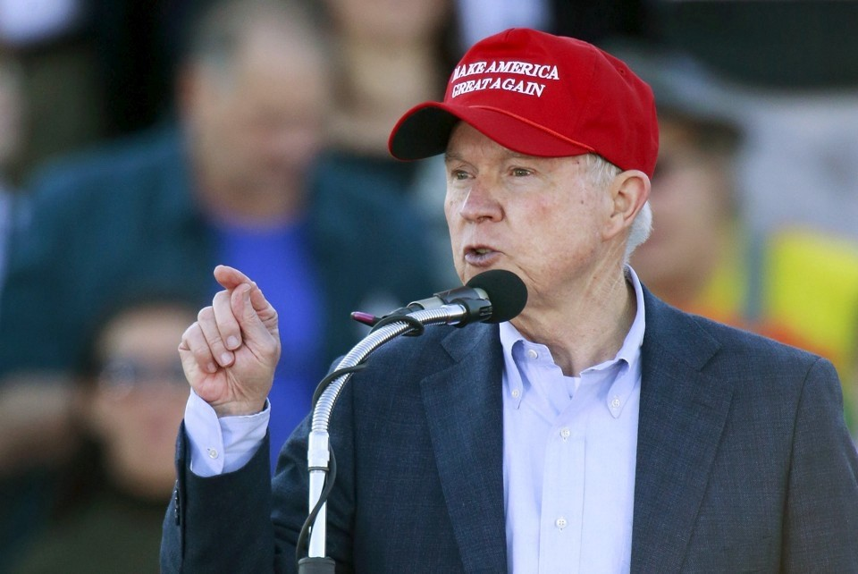 Jeff Sessions on the campaign trail (via <a href=