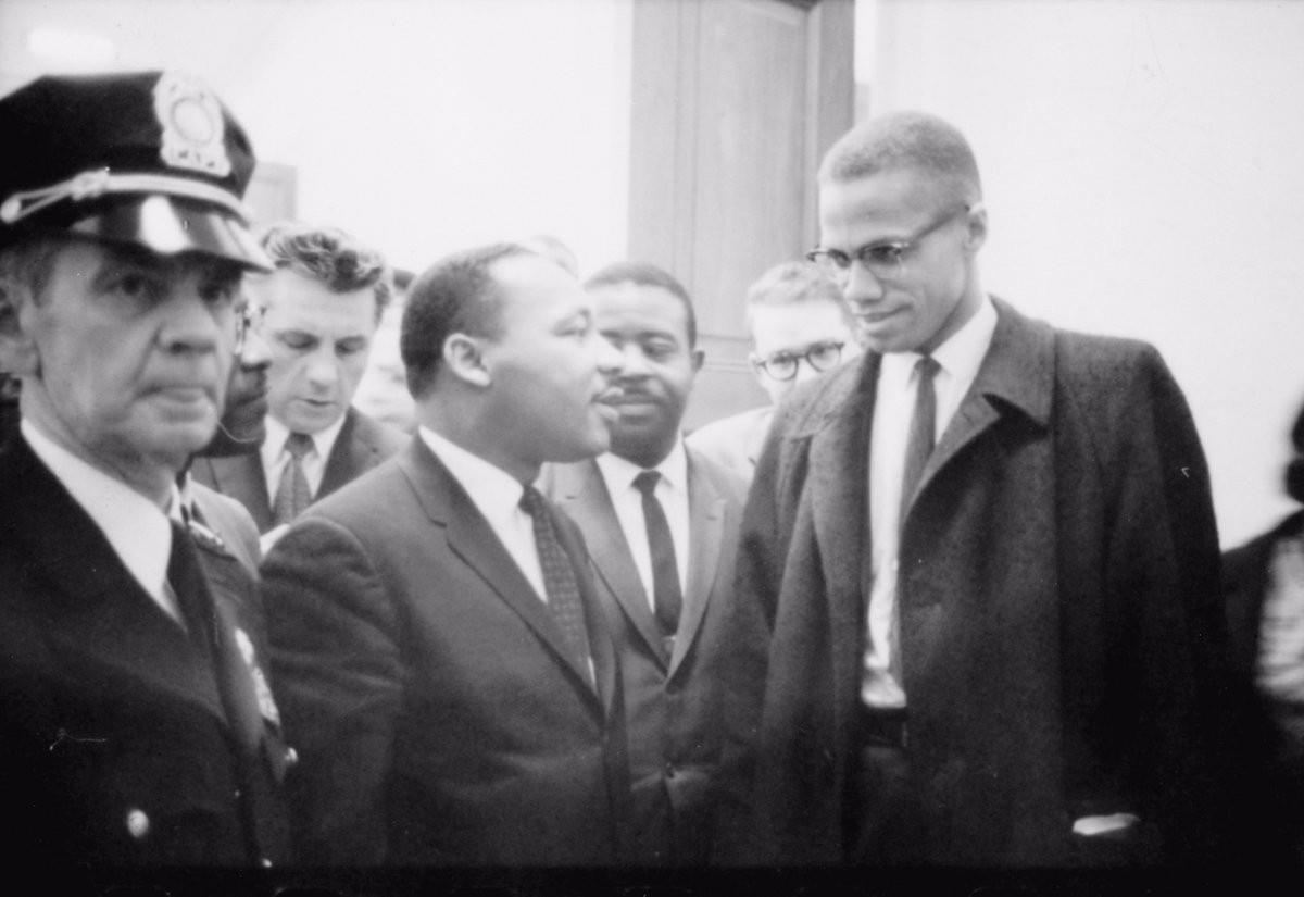 On March 26, 1964, MLK and Malcolm X meet for the first and lasttime.