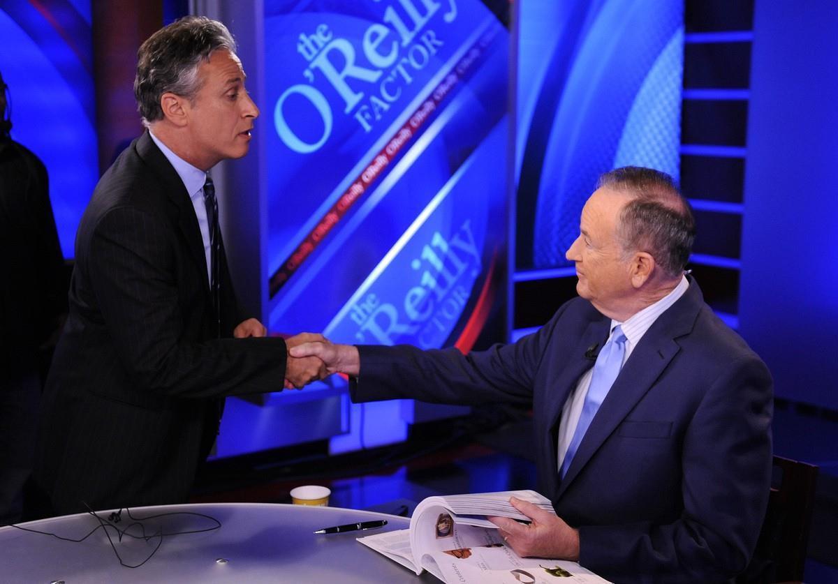 Jon Stewart on Bill O'Reilly's Fox News Show <em><p class=