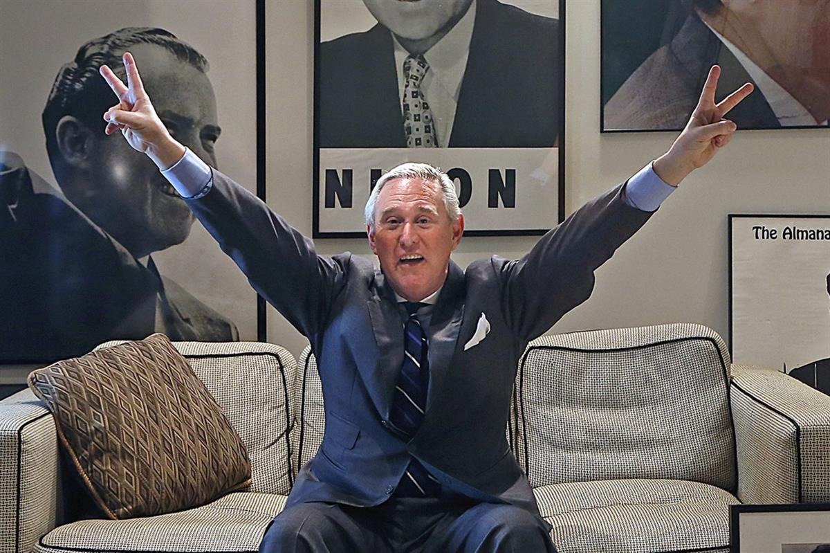 Roger Stone (Carl Juste/Miami Herald/MCT/Getty Images)