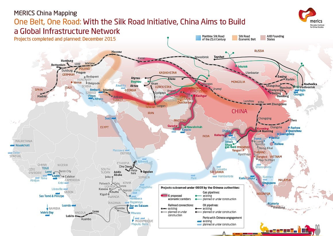 Trump wants to build walls, Xi wants to connect the world (Source: <a href=
