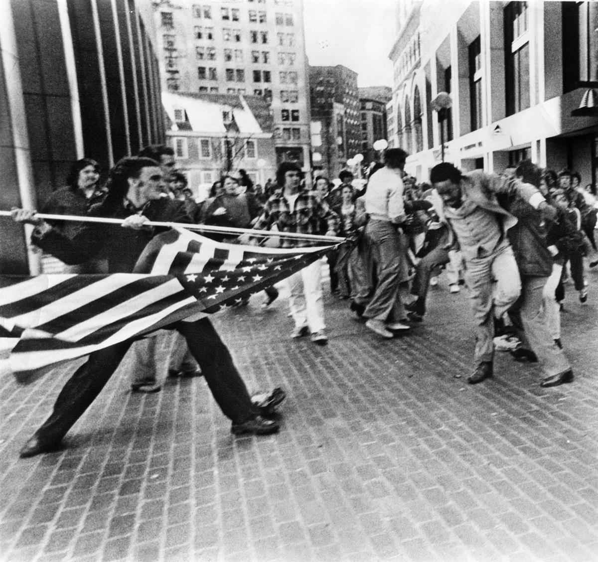 'The Soiling of Old Glory' April 5th, 1976Boston