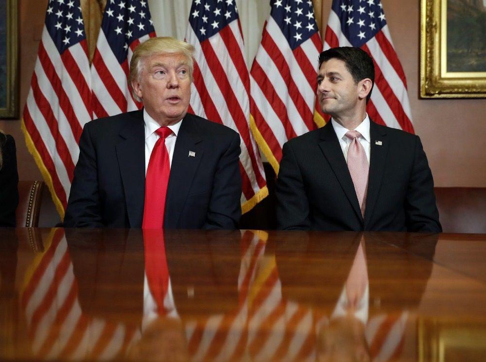 President Donald Trump and Speaker Paul Ryan(AP)