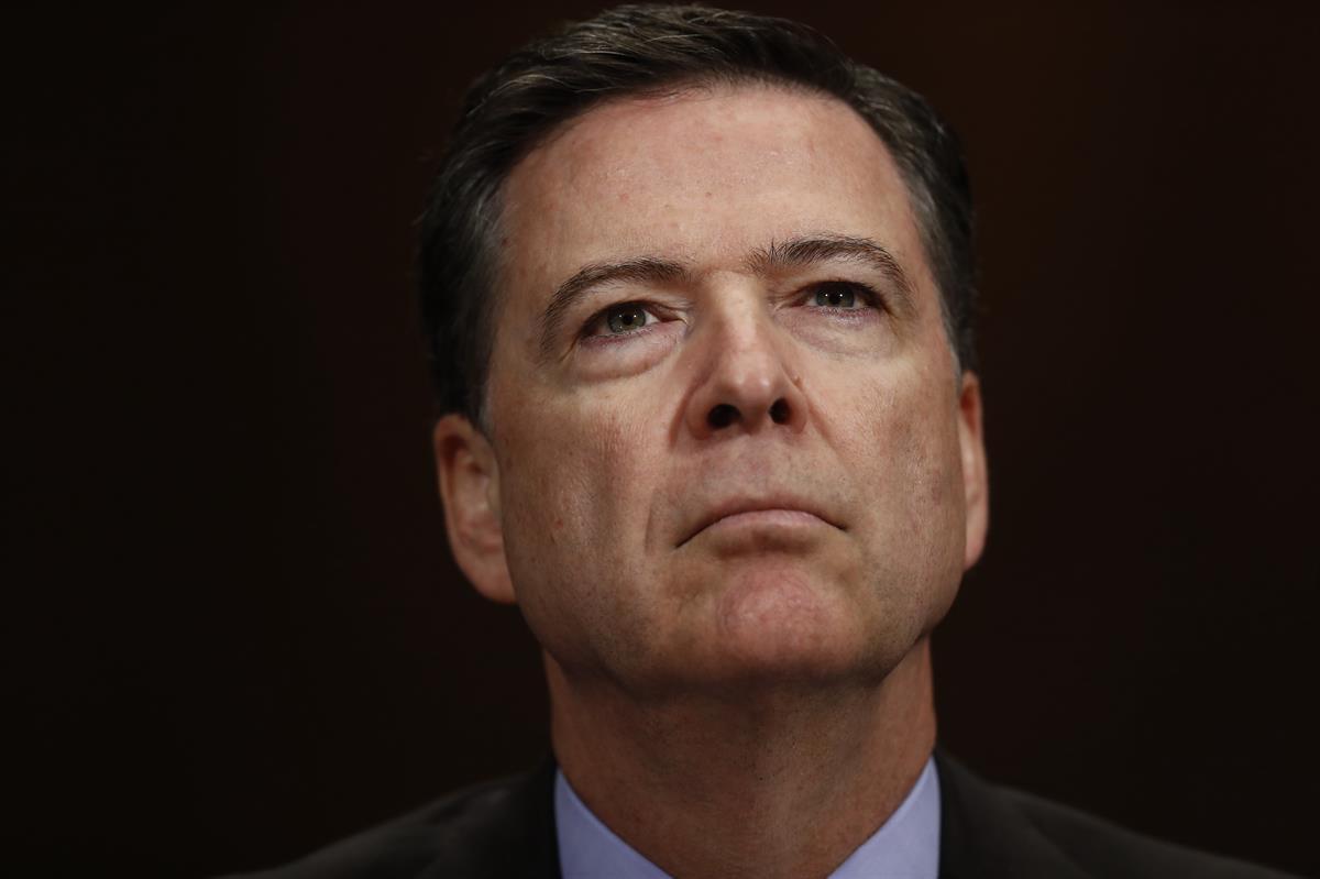 Former FBI Director James Comey(AP)