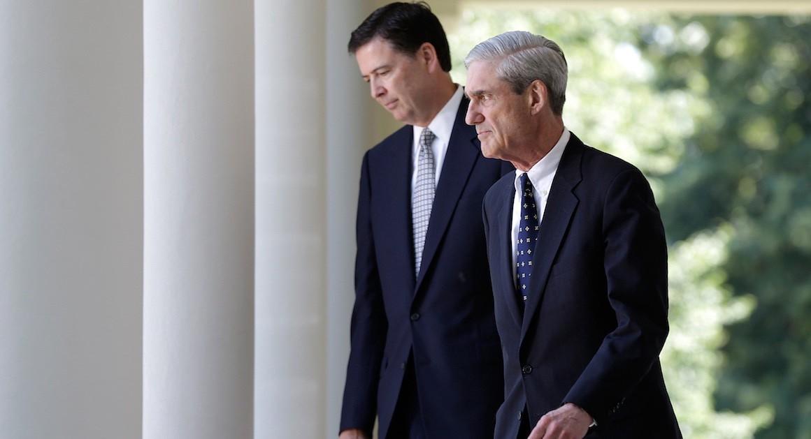 James Comey and Robert Mueller (GettyImages)