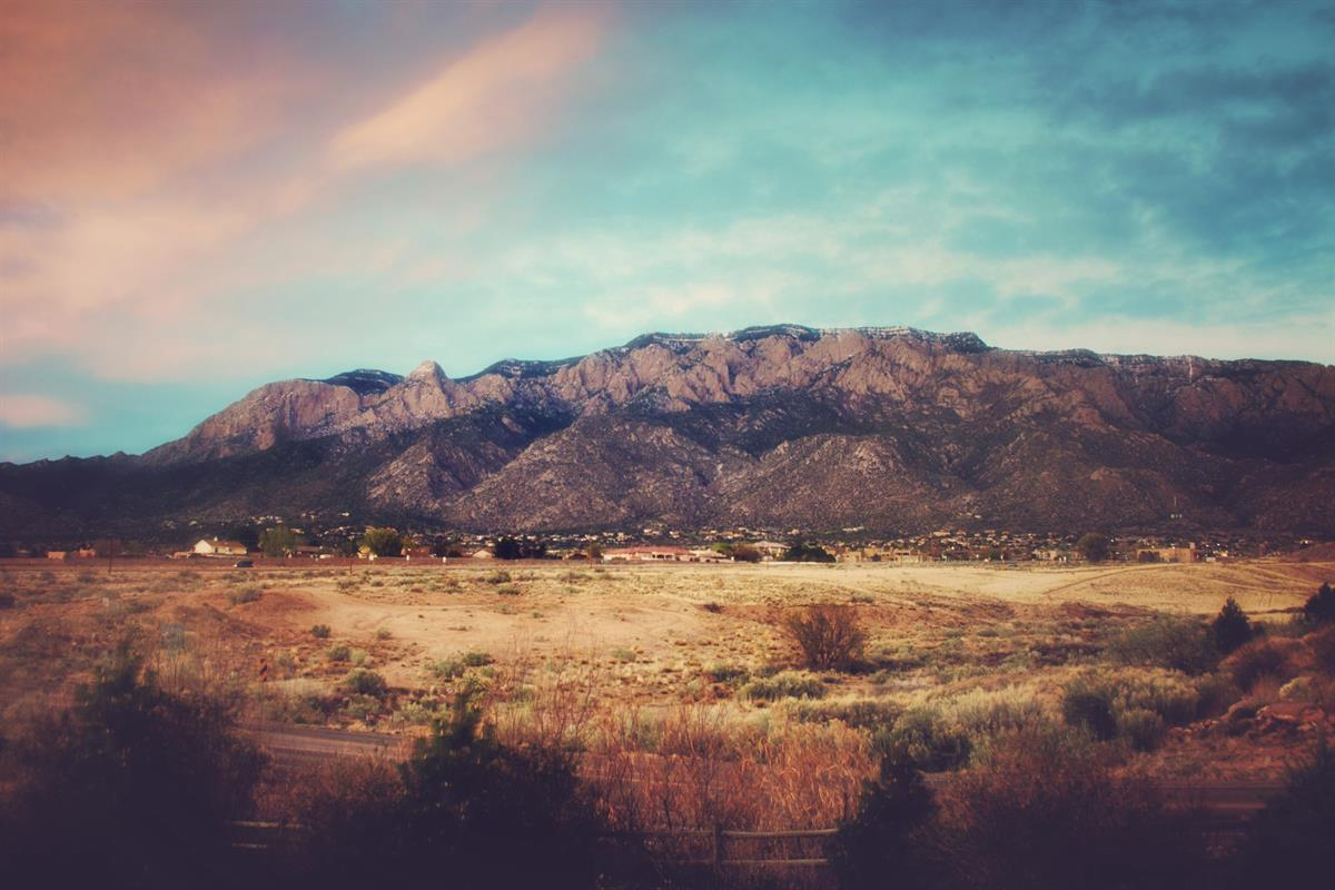 Sandia Mountains at Sunset, New Mexico, istock