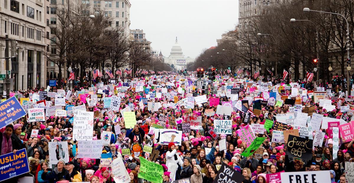 The Women's March—January 21, 2017 (Vlad Tchompalov)
