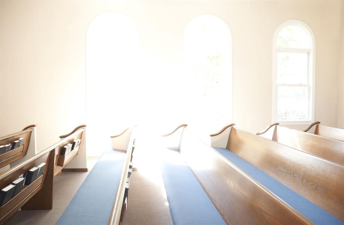 Evangelical Church interior (Photo<a href=